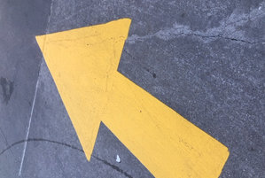 Directional Arrows Painted on Your Parking Lot